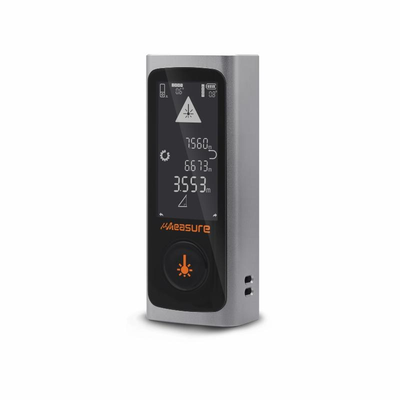 Digital touch screen USB charge laser rangefinder distance meter measuring device with bluetooth