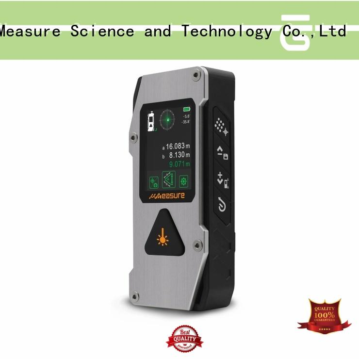 UMeasure carrying laser measuring tool display for measuring