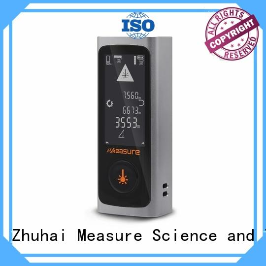 UMeasure display laser measuring devices bluetooth for worker