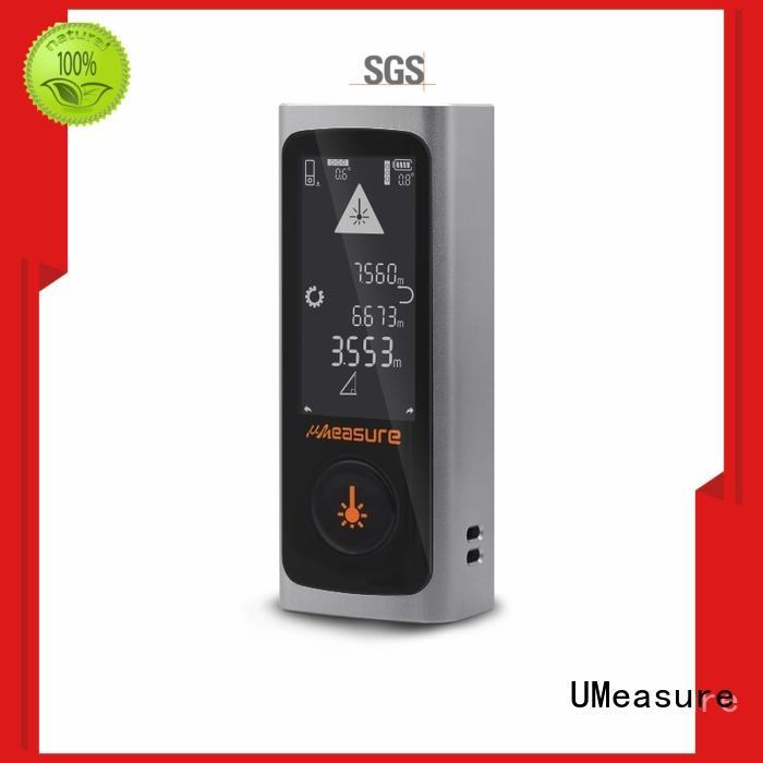 UMeasure durable best laser distance meter backlit for wholesale