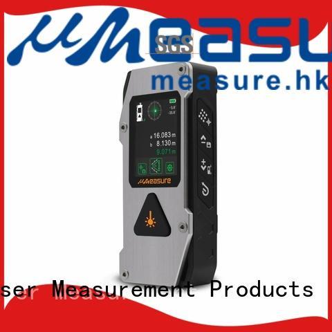 UMeasure radian laser measure tape display for worker