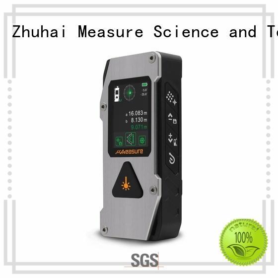 UMeasure measurement laser measure tape backlit for worker