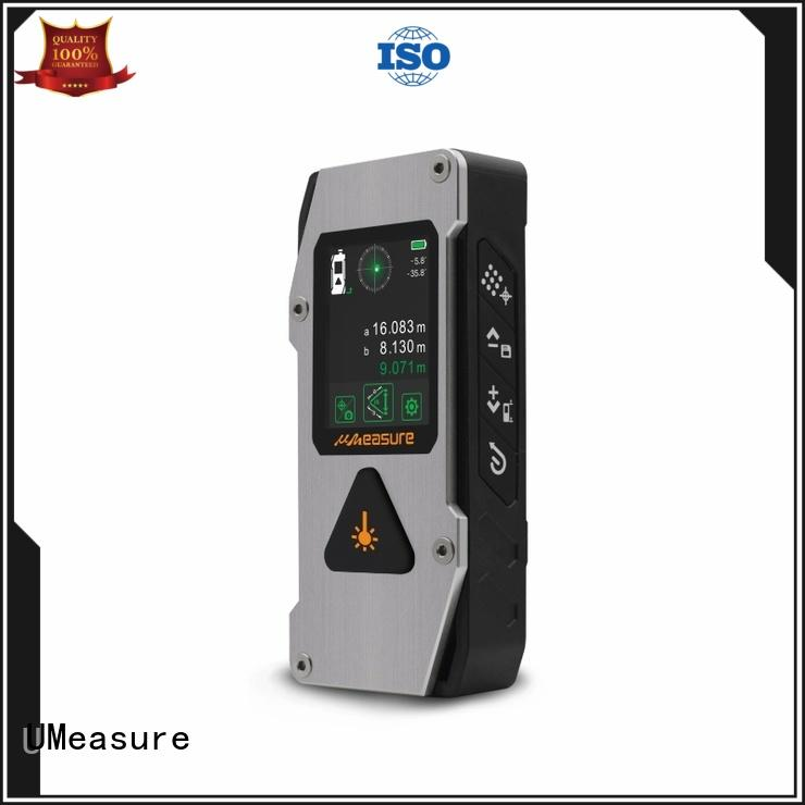 bluetooth Custom accurate laser distance measurer rangefinder UMeasure
