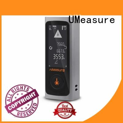 UMeasure carrying best laser measuring tool distance for worker