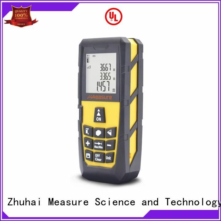 UMeasure electronic best laser measuring tool backlit for worker