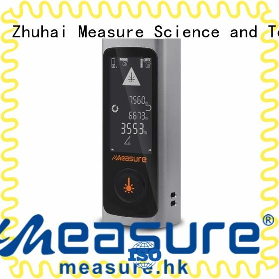focal electronic backlit UMeasure Brand laser distance measurer supplier