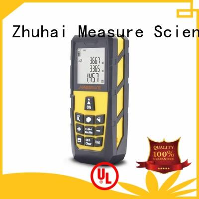 long laser distance measuring device universal display for measuring