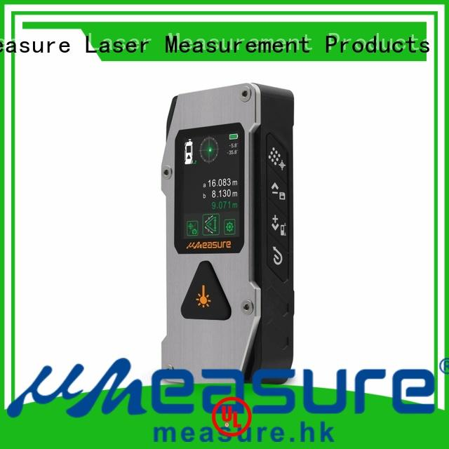 UMeasure handheld laser distance meter price bluetooth for worker