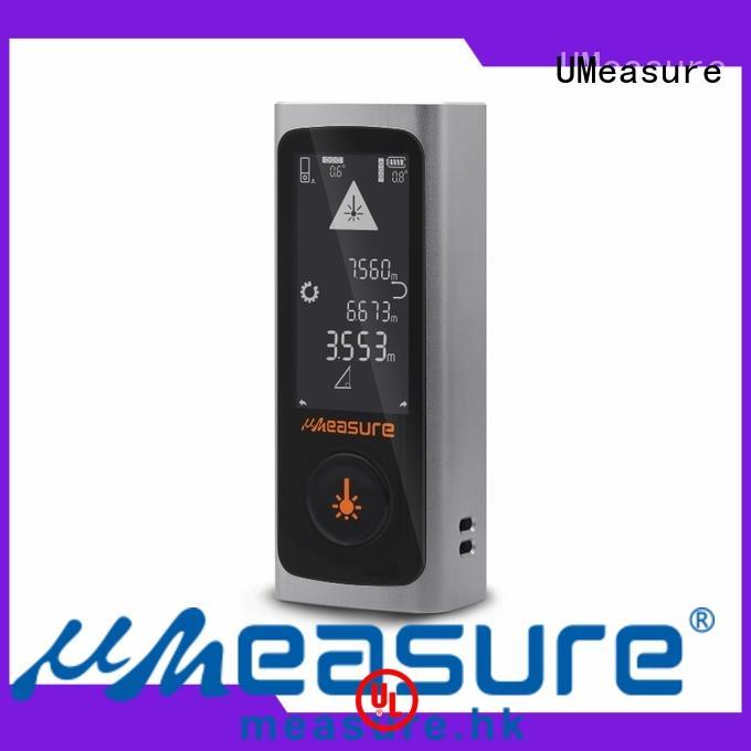 UMeasure digital best laser distance measurer bluetooth for worker