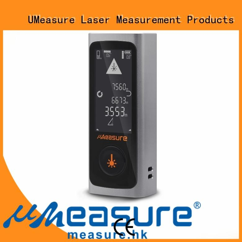 UMeasure carrying digital laser measuring device tool for measuring