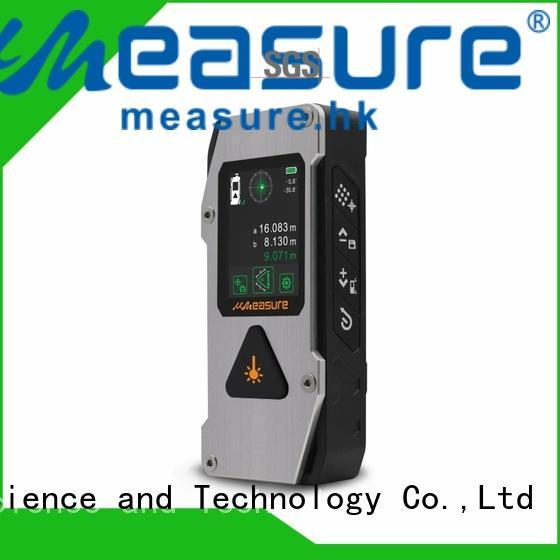 handheld laser measure reviews pouch backlit for worker