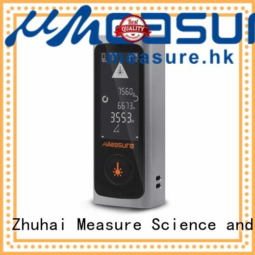 UMeasure handheld laser distance measuring device high-accuracy for measuring