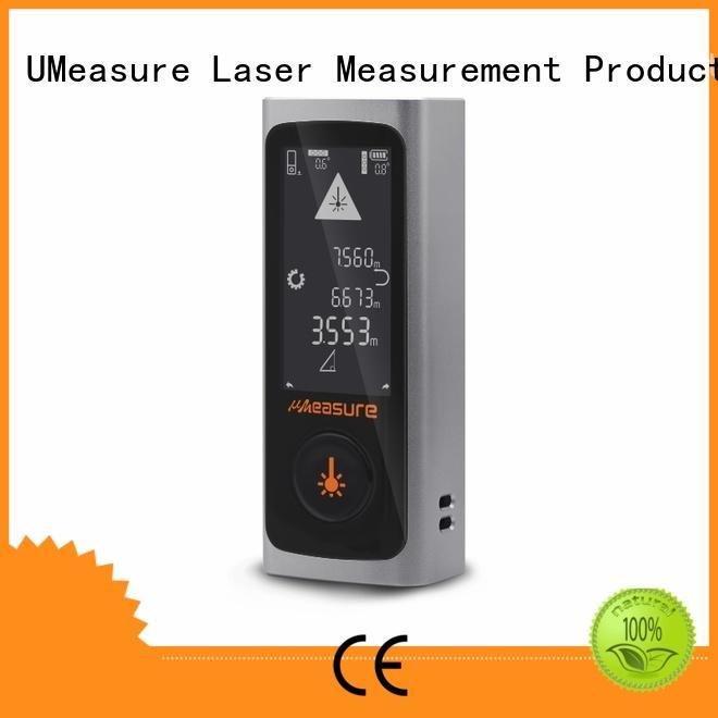 UMeasure digital measuring tape backlit for measuring