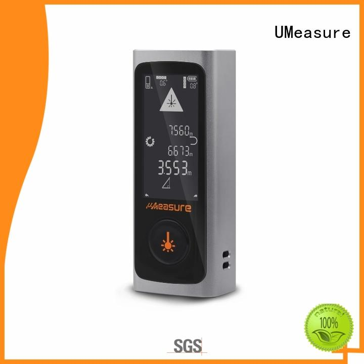 UMeasure durable laser distance meter price backlit for worker