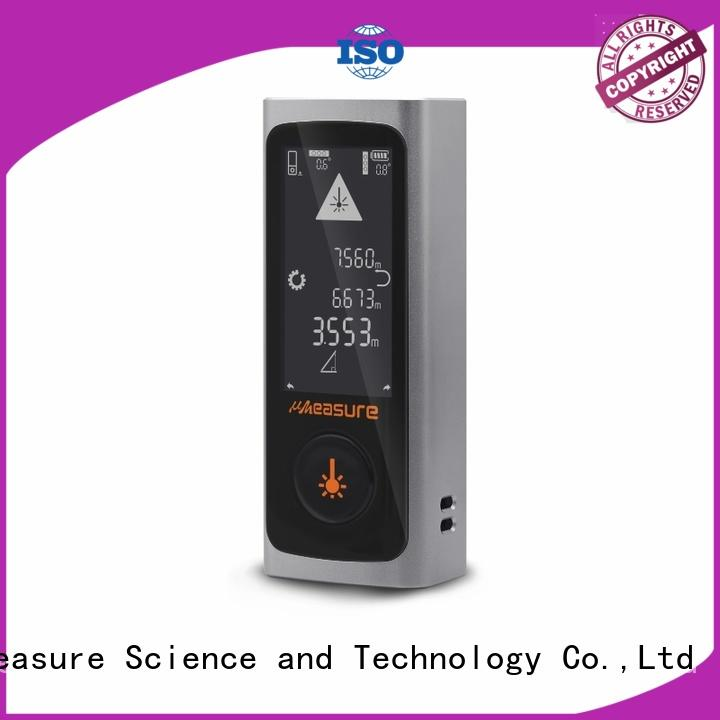 UMeasure laser distance measuring tool far for measuring
