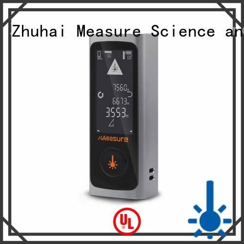 track distance measuring equipment laser usb charge for worker UMeasure