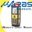 UMeasure top mode laser distance backlit for worker