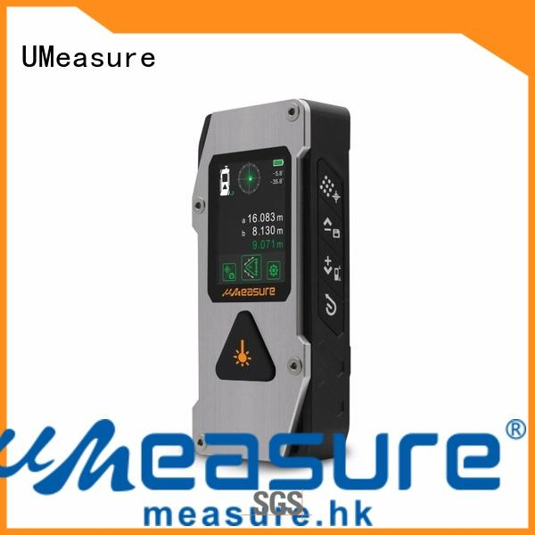 UMeasure accurate curve laser distance meter bluetooth for measuring