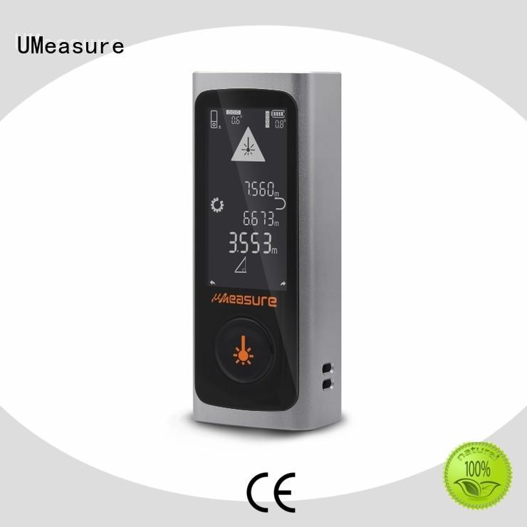 UMeasure pythagorean distance measuring equipment laser accuracy for