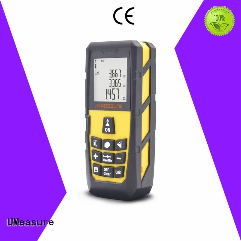 UMeasure carrying laser distance meter 100m measurement for worker