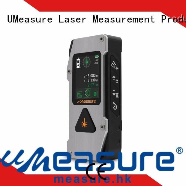 UMeasure multimode best laser distance meter bluetooth for worker