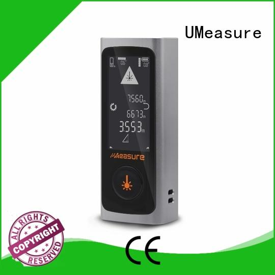 UMeasure large laser distance meter backlit for wholesale