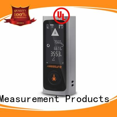 UMeasure touch laser distance meter backlit for wholesale