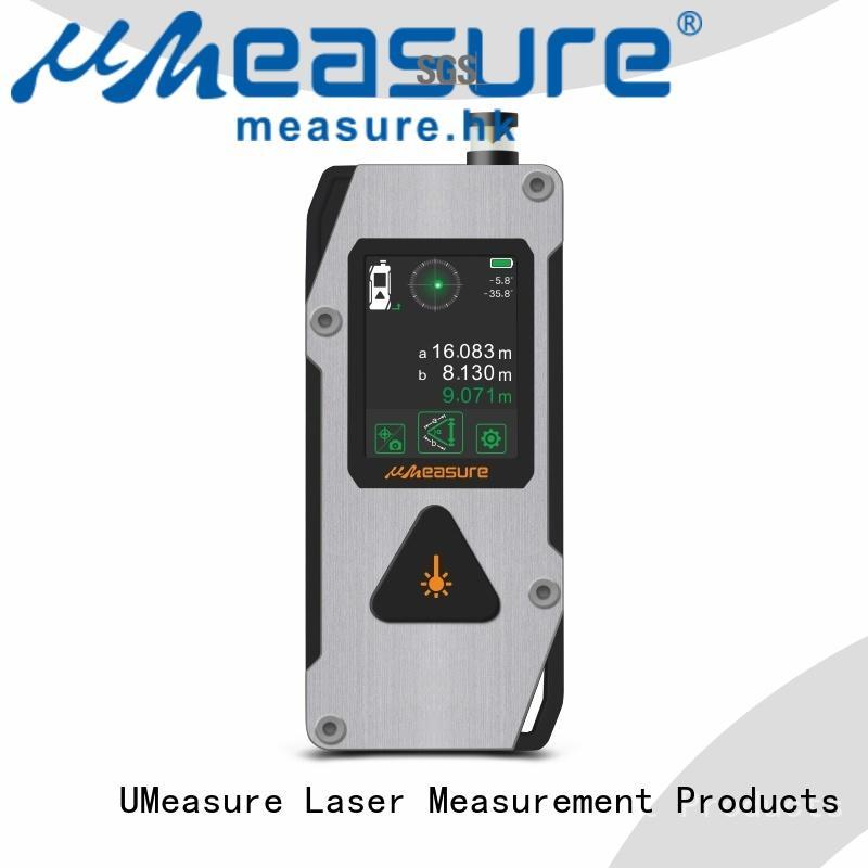 UMeasure handheld laser distance measurer bluetooth for wholesale