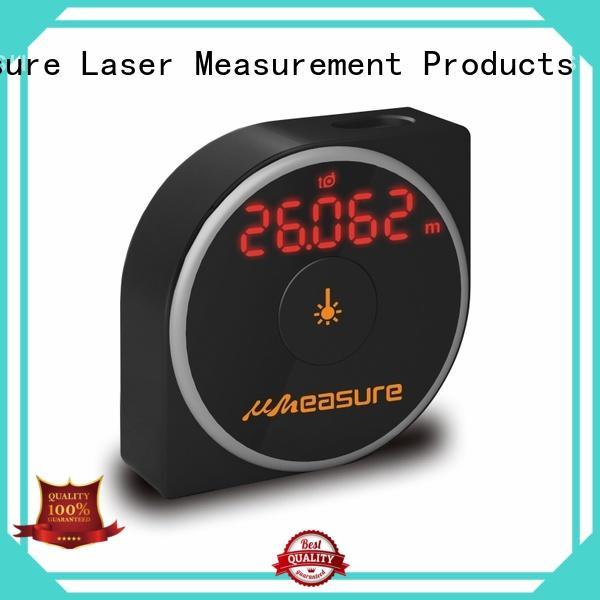 UMeasure handhold best laser distance measurer backlit for sale