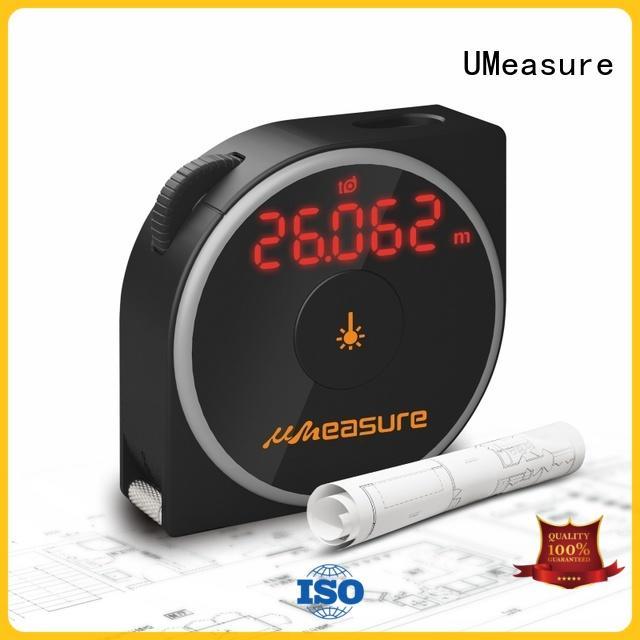 UMeasure multifunction laser measuring meter backlit for measuring