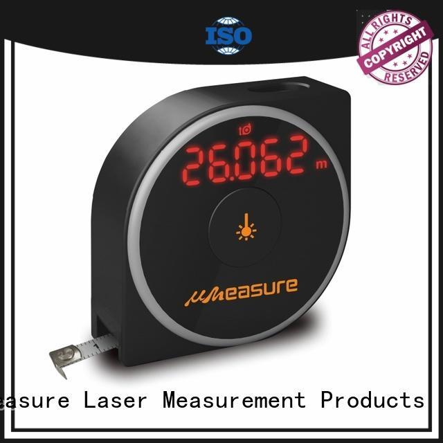 UMeasure top mode digital measuring device backlit for worker