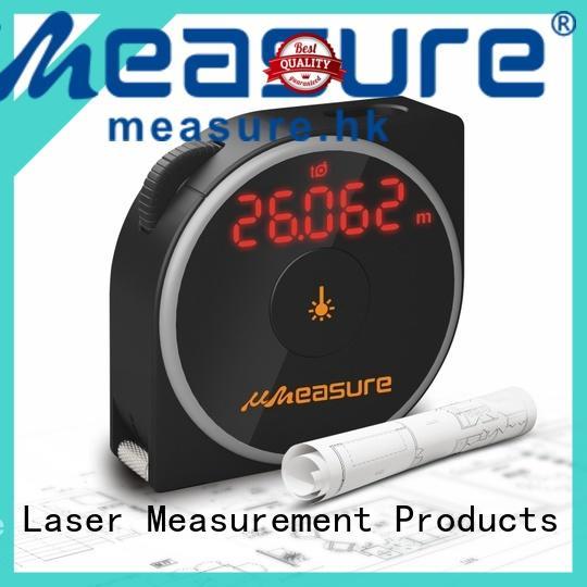 UMeasure bubble best laser measure backlit for worker