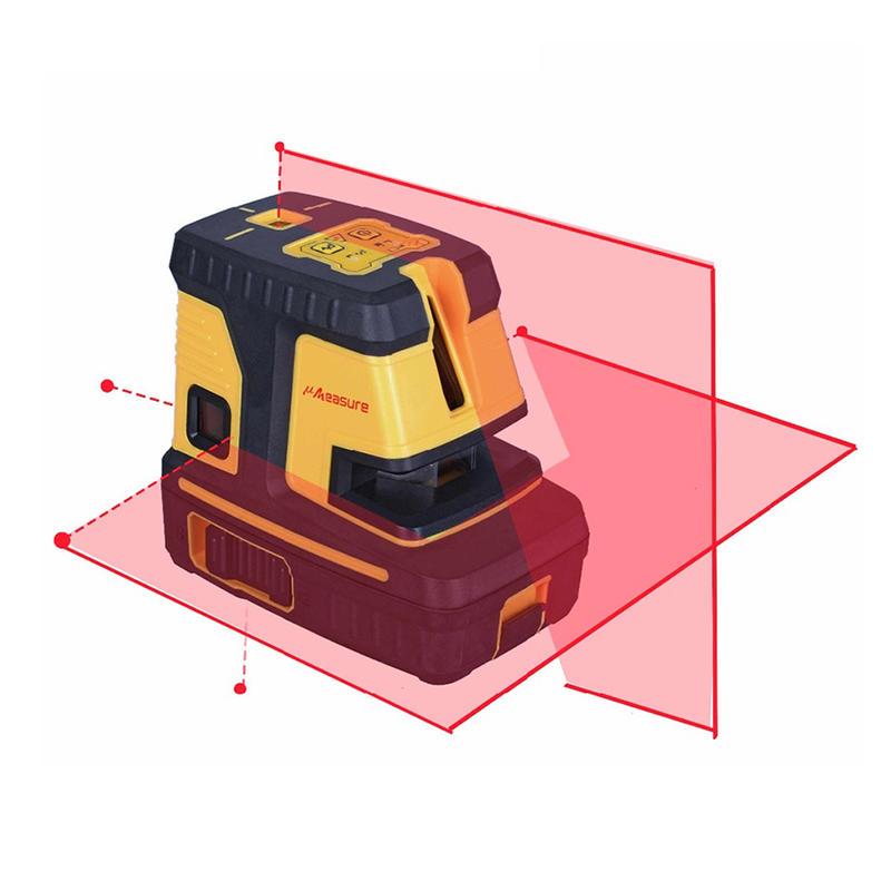 New Arrival Laser level with wall bracket msr/g 25 1v1h 5 dots