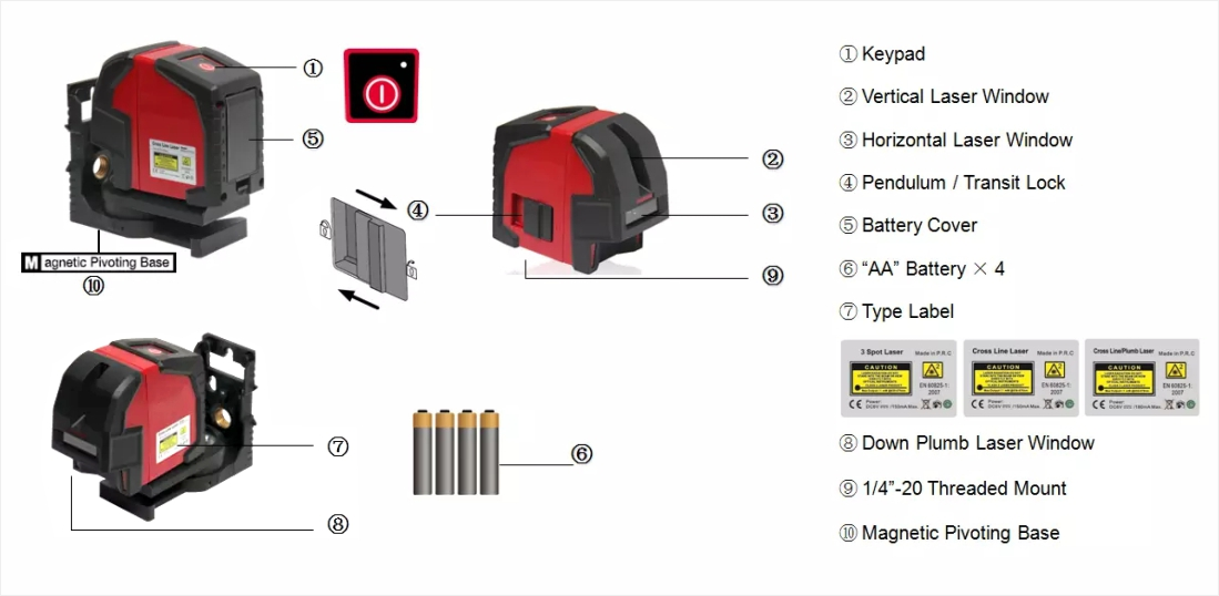 UMeasure universal laser level for sale transfer at discount-4