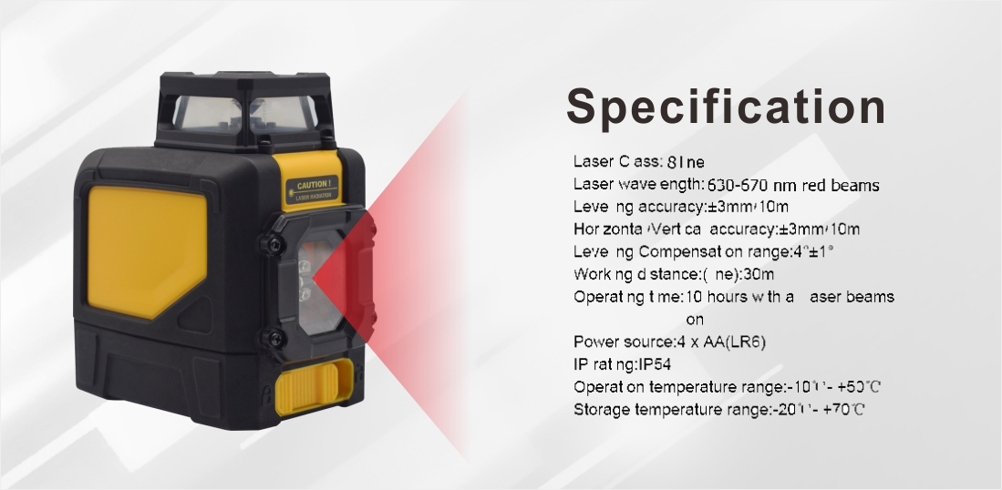 UMeasure at-sale best cross line laser level arrival at discount-4