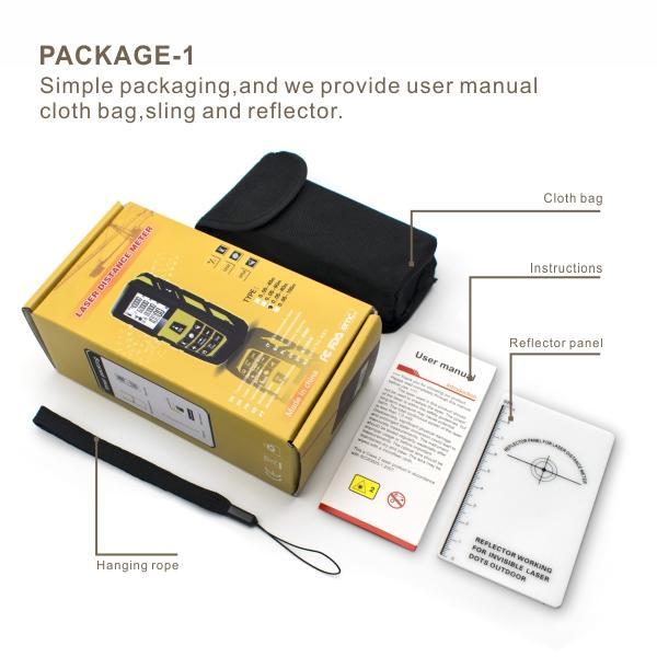 UMeasure tool best laser distance measurer handhold for measuring
