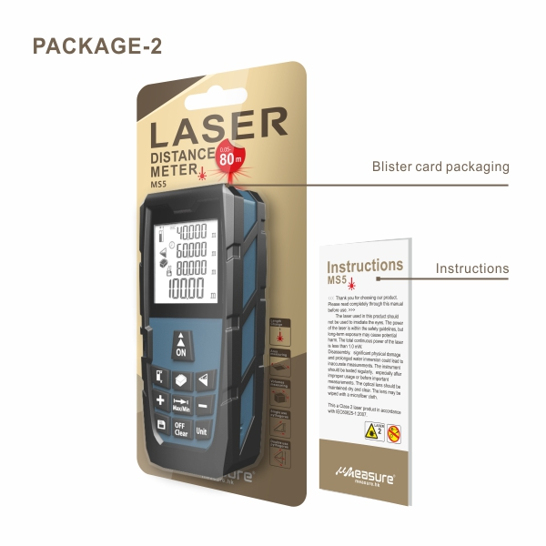 UMeasure household laser distance measurer bluetooth for sale-14