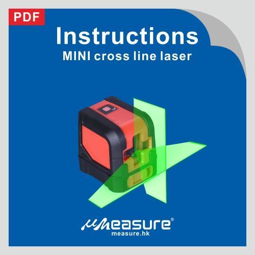 MINI cross line laser