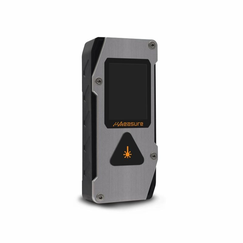 durable laser distance measurer carrying display for measuring