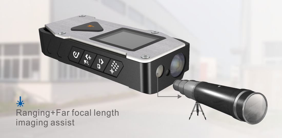 New multi-function laser distance meter measure angle laser level combined with far focal length image assist-9