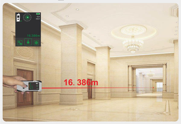 multimode laser meter measure bluetooth for worker