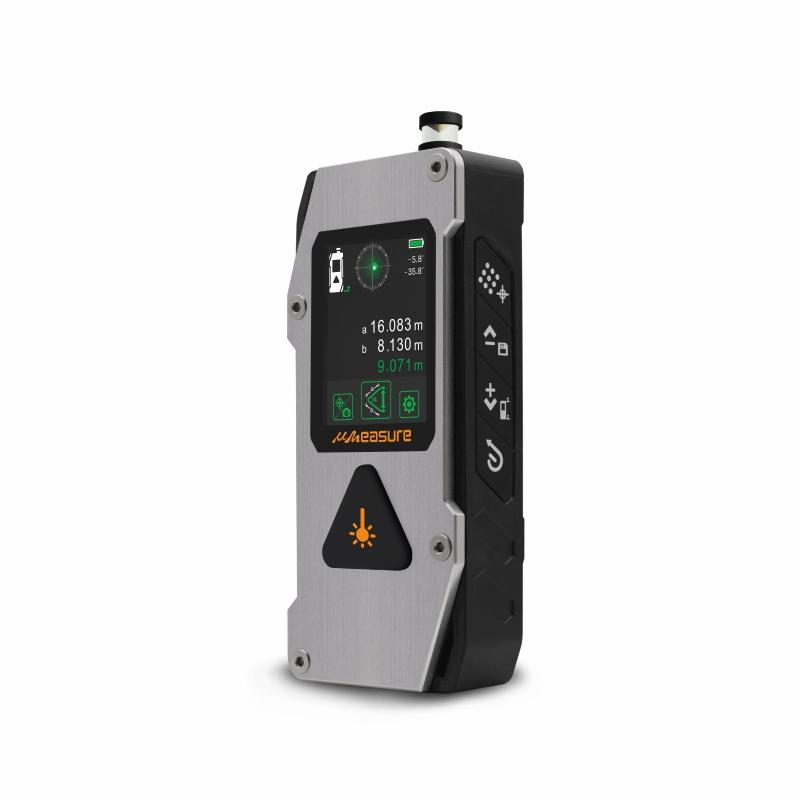 UMeasure handheld laser distance backlit for measuring