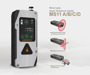 UMeasure handheld laser distance backlit for measuring-13