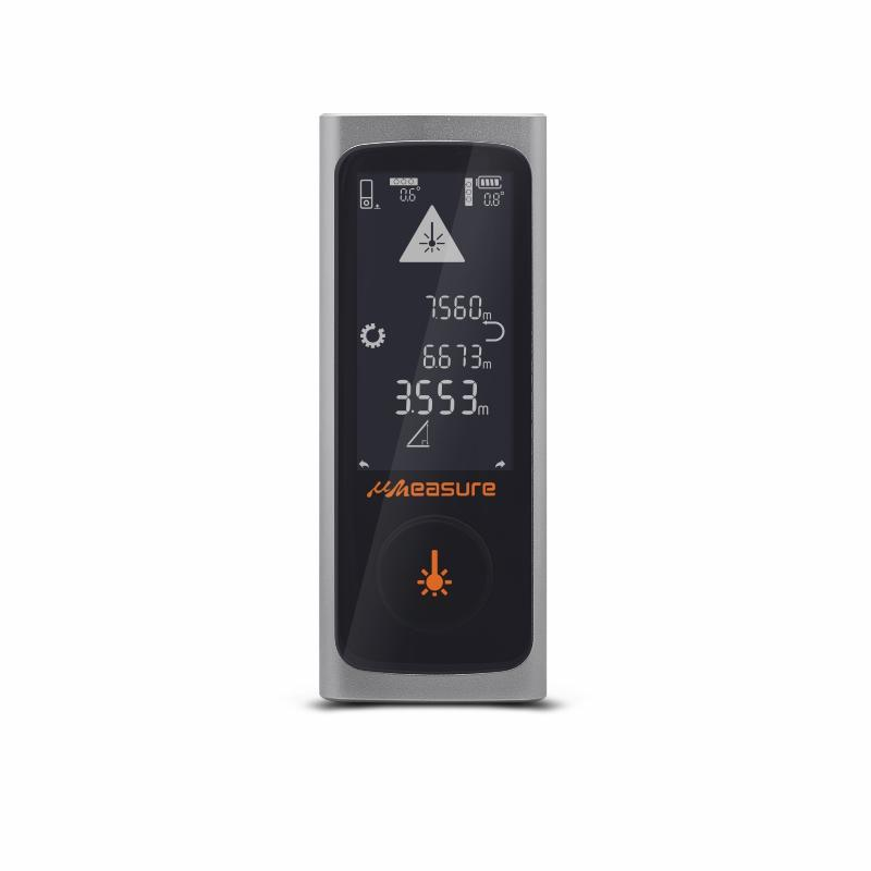 UMeasure ranging best laser distance measurer backlit for worker