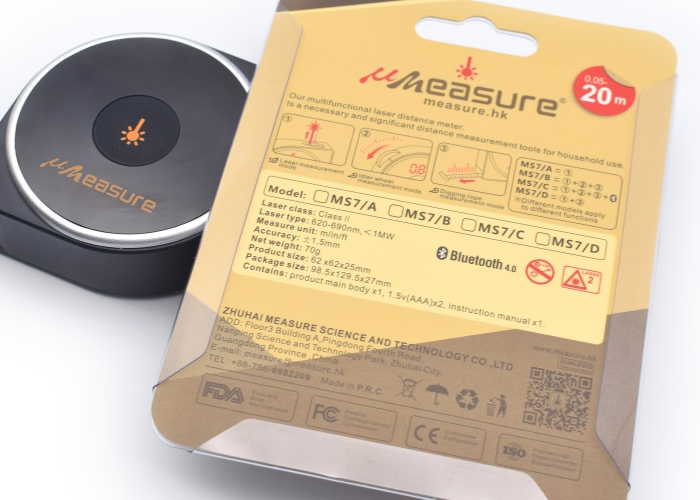 20M/40M Umeasure laser measuring tape for sale MS7-D/20-8