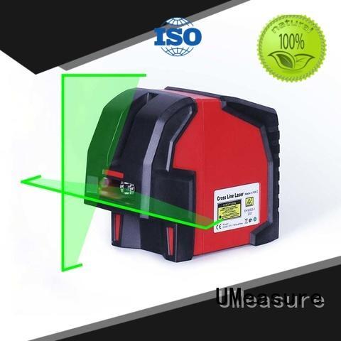 portable cross line laser level for