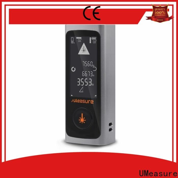 UMeasure multimode laser ruler display for measuring