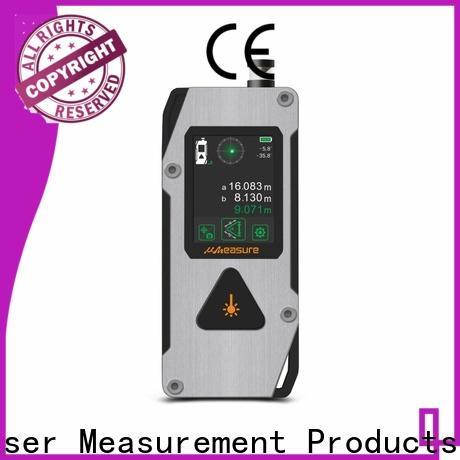 UMeasure durable laser distance meter display for worker