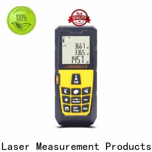 UMeasure long laser distance measuring device backlit for measuring