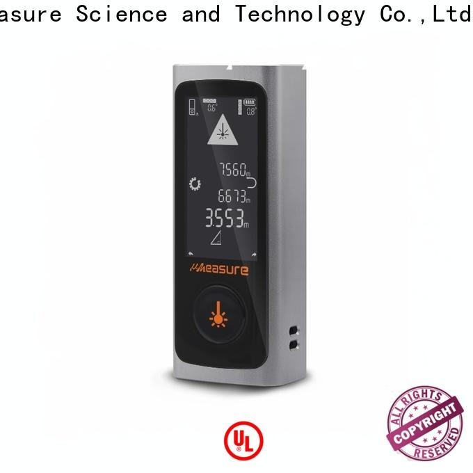 UMeasure touch laser distance meter bluetooth for measuring